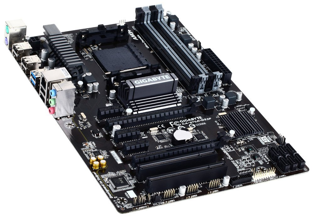 Gigabyte Ga-970a-ds3p Am3  Fx Socket Atx Motherboard