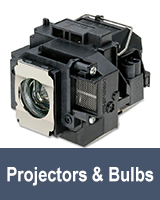 Click to Shop Projectors & Bulbs